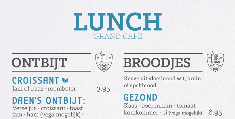 lunch Utrecht